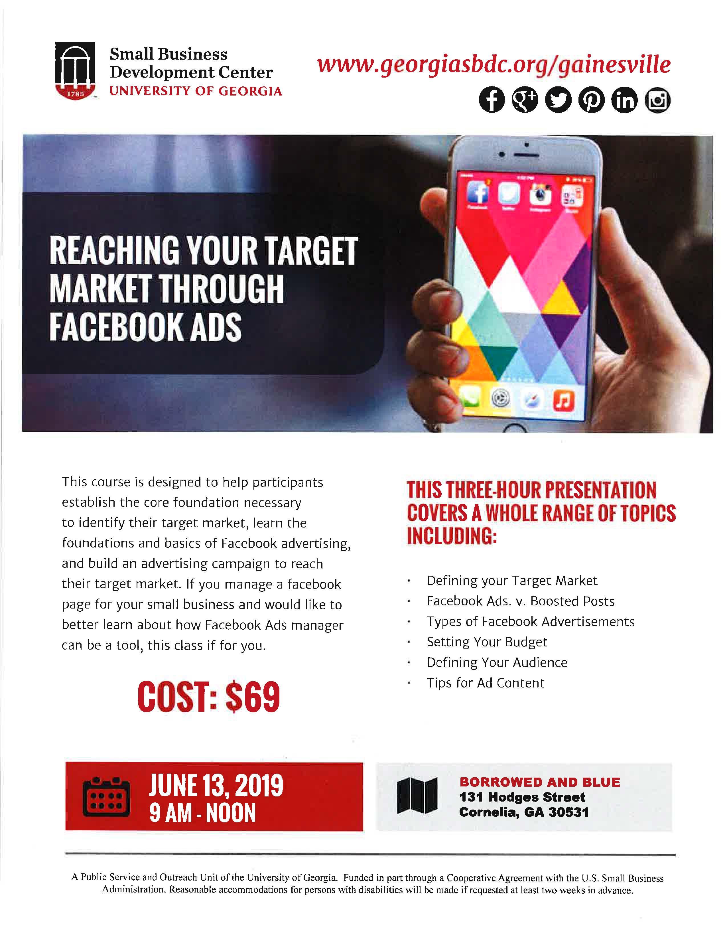 Reaching Your Target Market Through Facebook Ads